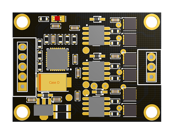 BaseCam SimpleBGC 3rd axis discrete extended board